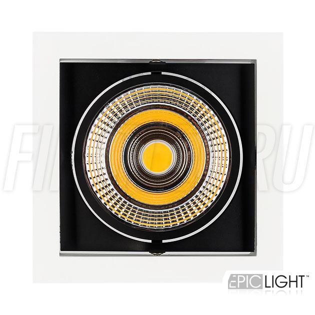 Встраиваемый светильник KARDAN 25W (152mm) с возможностью поворота светодиодного модуля
