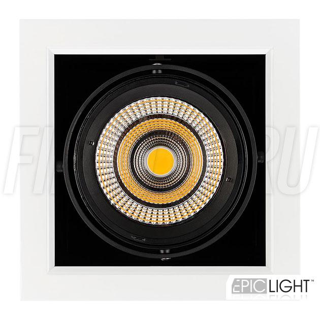 Встраиваемый светильник KARDAN 25W (190mm) с возможностью поворота светодиодного модуля