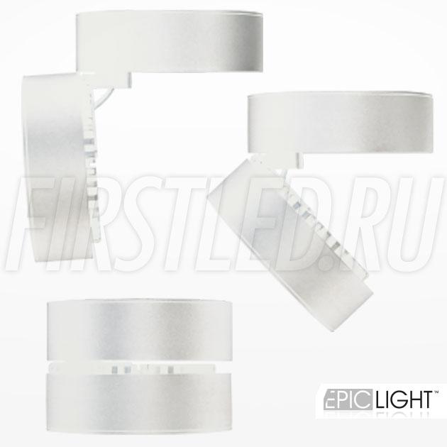 Откидной корпус светодиодного светильника MONA R White12W (ROTER C WH)
