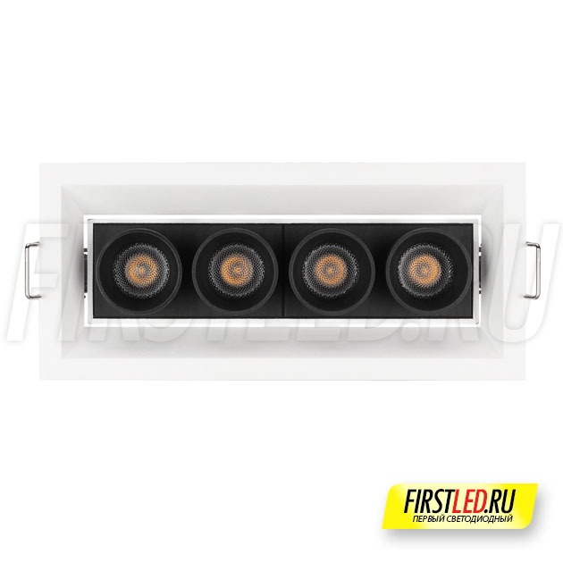Встраиваемый светодиодный светильник ORIENT BUILT 10W вид спереди