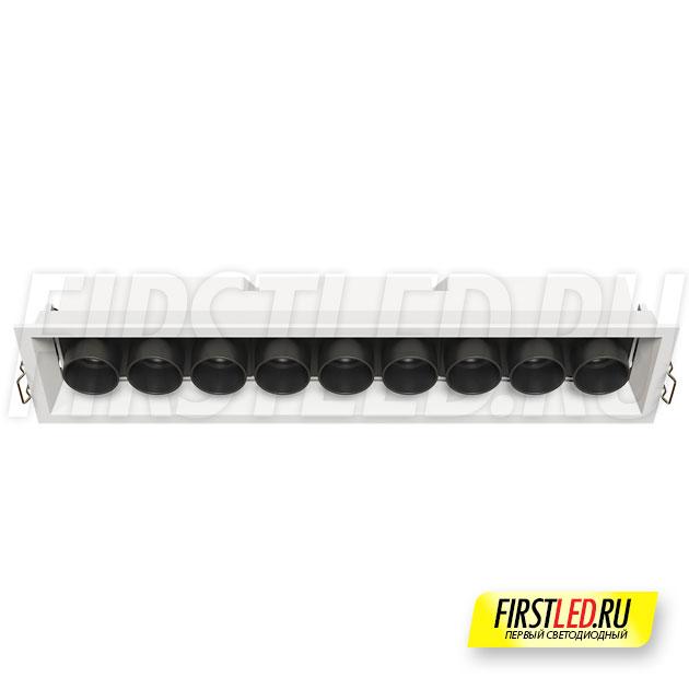 Встраиваемый светодиодный светильник ORIENT BUILT 20W (аналог ZIP LINE 370 R2430)