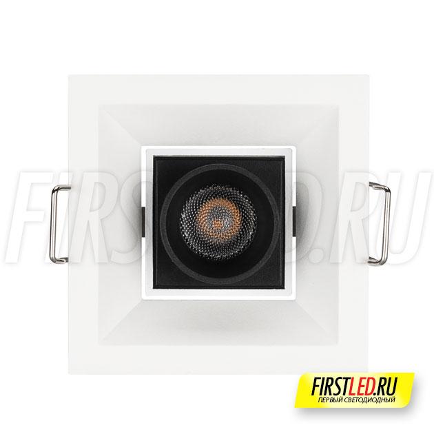 Встраиваемый светодиодный светильник ORIENT BUILT 3W вид спереди