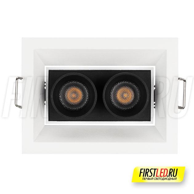 Встраиваемый светодиодный светильник ORIENT BUILT 5W вид спереди