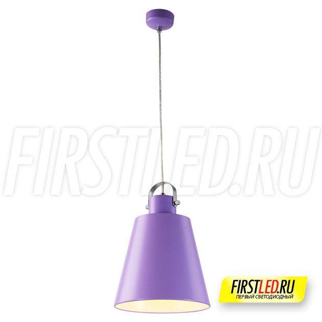 Подвесной светодиодный светильник PAIL (фиолетовый)
