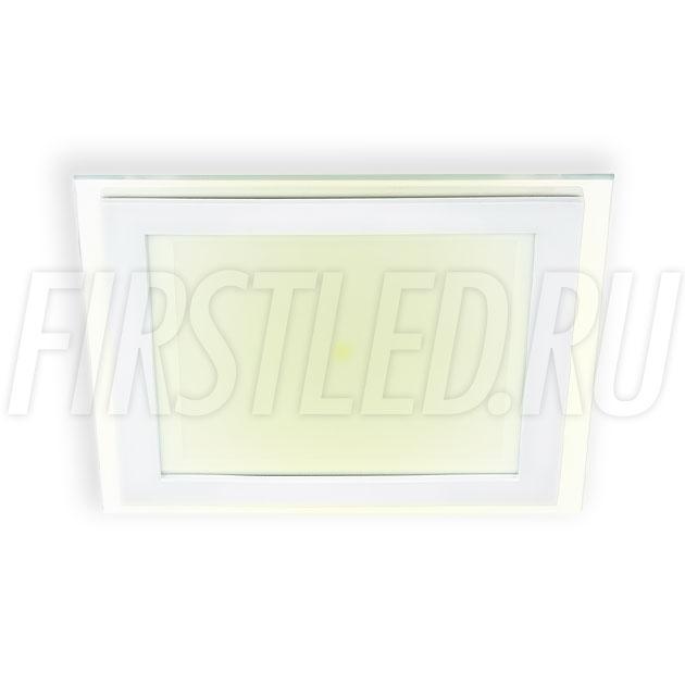 Встраиваемый светодиодный светильник STEKLO K 12W