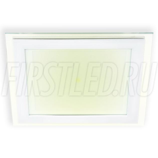 Встраиваемый светодиодный светильник STEKLO K 16W