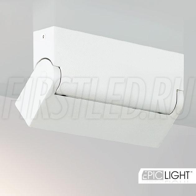 Накладной потолочный светодиодный светильник TURNED LOFT White 10W (TURN DOT LINE 1030 WH)