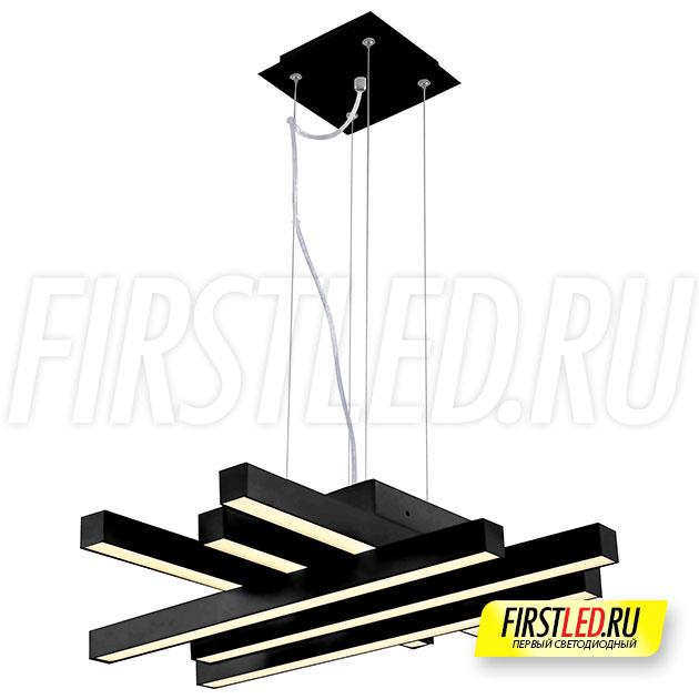 Светодиодная люстра ASFOR 50 (черная)