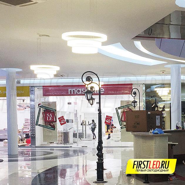 MASTER 75 — Идеальное освещение для больших пространств, например торговые центры или входные группы