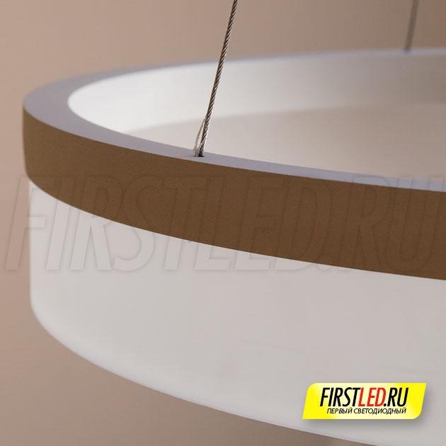 Подвесная светодиодная люстра ROYAL в деталях