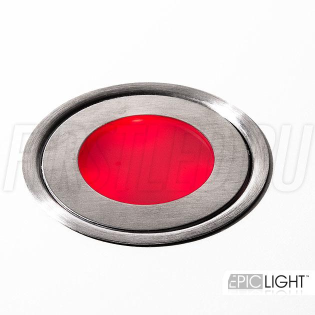 RGB цвет светодиодного светильника CARPET.C — красный оттенок