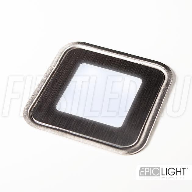 Светодиодный светильник CARPET.K легко устанавливается в ковролин, ламинат, в стену, а также в ступеньки