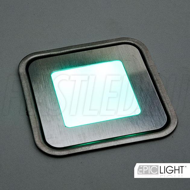 Зеленый свет rgb светильника EpicLIGHT CARPET.K