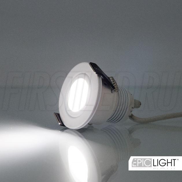 Светильник SMOLUS 4.3 состоит из мощного светодиода CREE XPE (США)