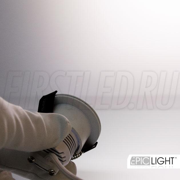 Светодиодный светильник SMOLUS 4.3 — холодный белый оттенок