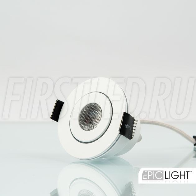 Миниатюрный светодиодный светильник SMOLUS 5.3 с поворотной головой