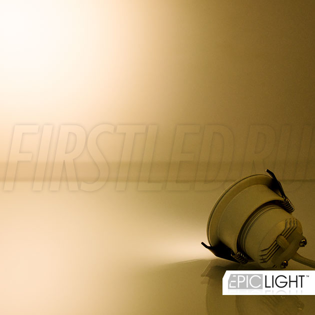 Светодиодный светильник SMOLUS 5.3 — теплый белый свет