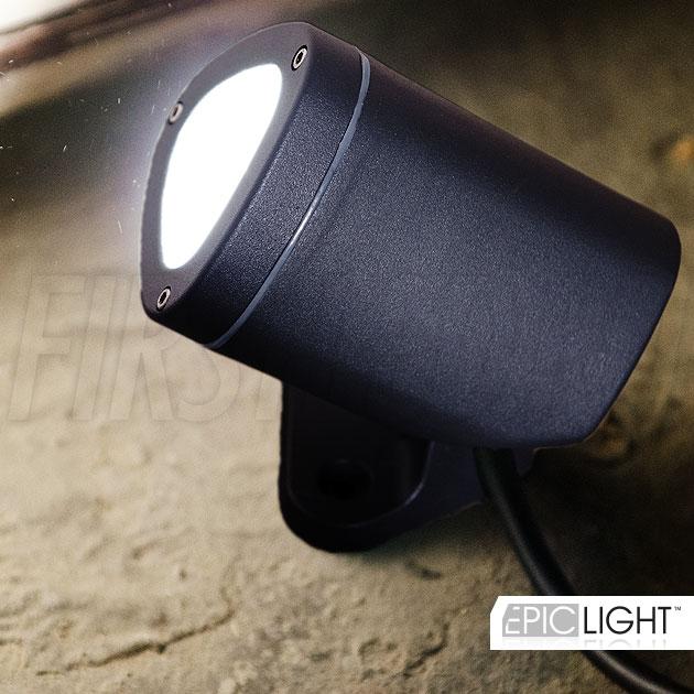Светодиодный светильник GARDENIUM с одним мощным светодиодом американской фирмы CREE (США), яркость 240 Люмен)