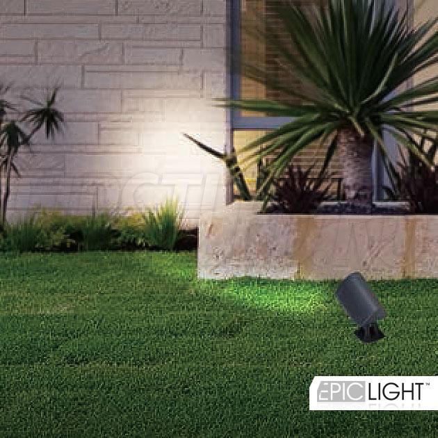 Освещение газонов светодиодным светильником GARDENIUM