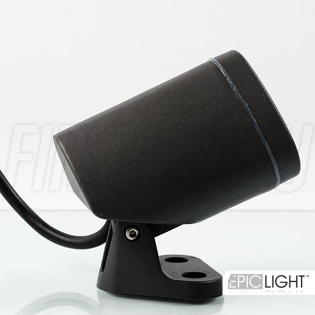 Регулируемый наклон светильника GARDENIUM поможет направить свет в нужном направлении