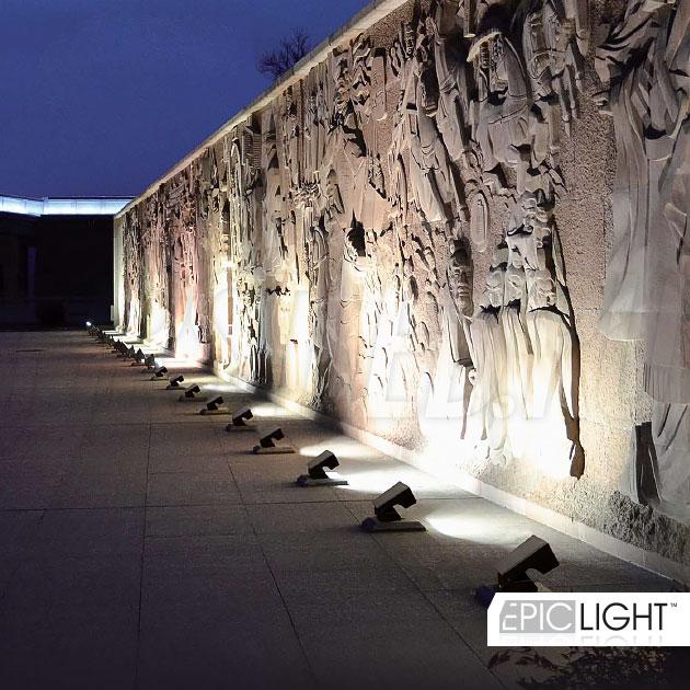 Применение светодиодного светильника MONUMENTO Lite при подсветке архитектурных памятников