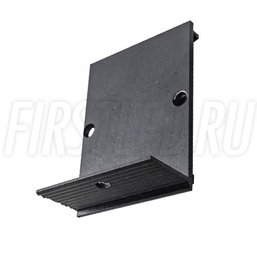 Заглушка для встраиваемого безрамочного магнитного трека MAGNETIC TRACK F (черная)