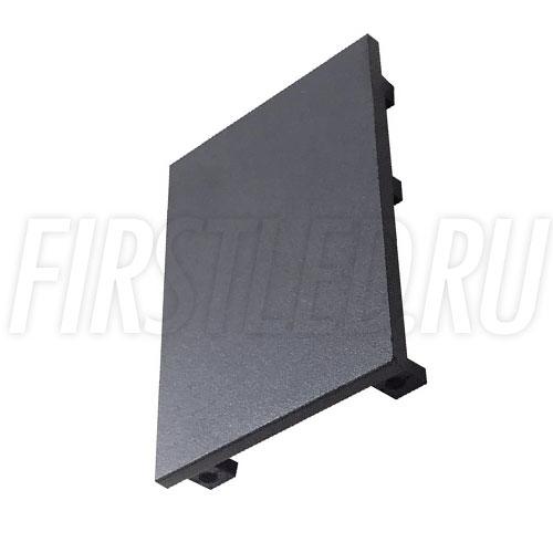 Заглушка для накладного магнитного трека MAGNETIC TRACK N (черная)