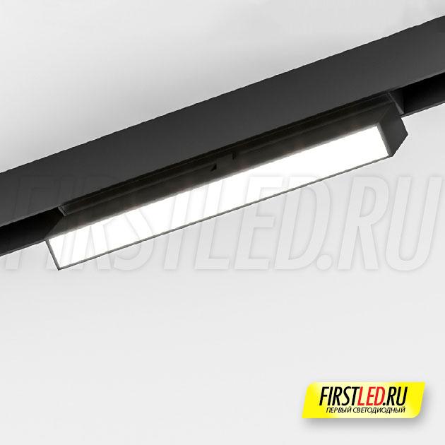 Магнитный трековый светильник MAG FLAT FOLD 25 S200 6W установленный в магнитом треке