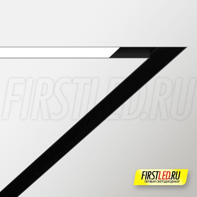 Профиль-держатель магнитых треков для натяжного потолка MAG STRETCH 45