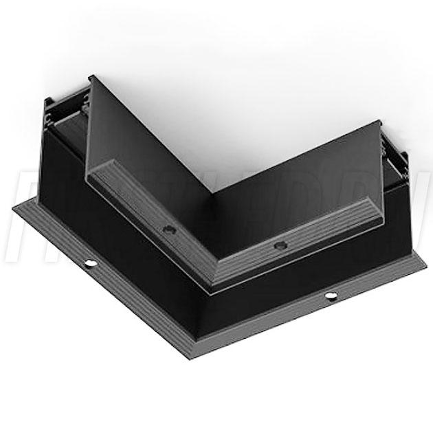 Угловой коннектор под прямым углом 90° для безрамочного магнитного трека MAG TRACK 2538 F