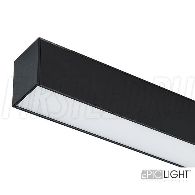 Магнитный трековый светильник MAGNETIC LINE B черный (аналог INF LINE)