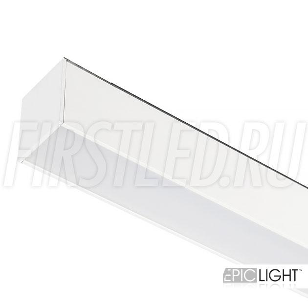 Магнитный трековый светильник MAGNETIC LINE W белый (аналог INF LINE WH / FLAT)