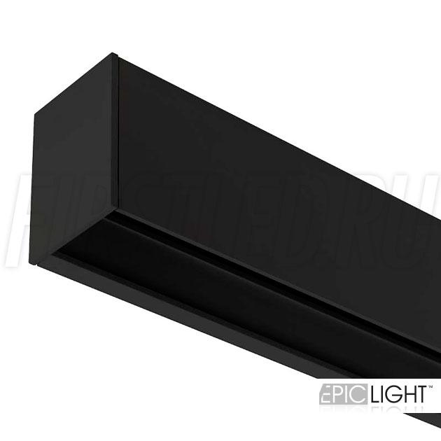 Накладной магнитный трек MAGNETIC TRACK N черного цвета