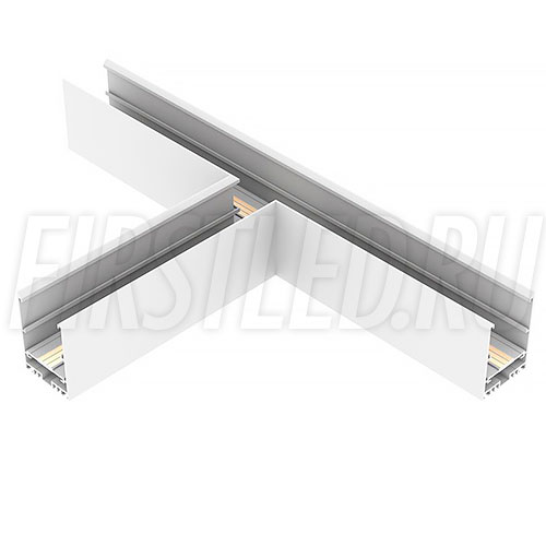 Т-образный коннектор для трех накладных магнитных треков MAGNETIC TRACK N под прямыми углами 90°