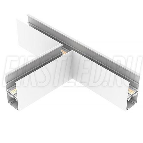 Т-образный коннектор для трех накладных магнитных треков MAGNETIC TRACK NB под прямыми углами 90°