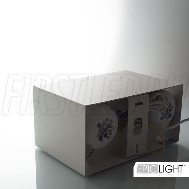 Накладной светодиодный светильник CUBOID DUO отлично подходит для основного света