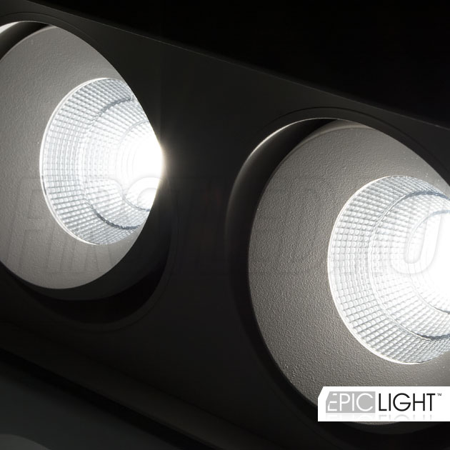 Поворотные светодиодные модули светильника CUBOID DUO