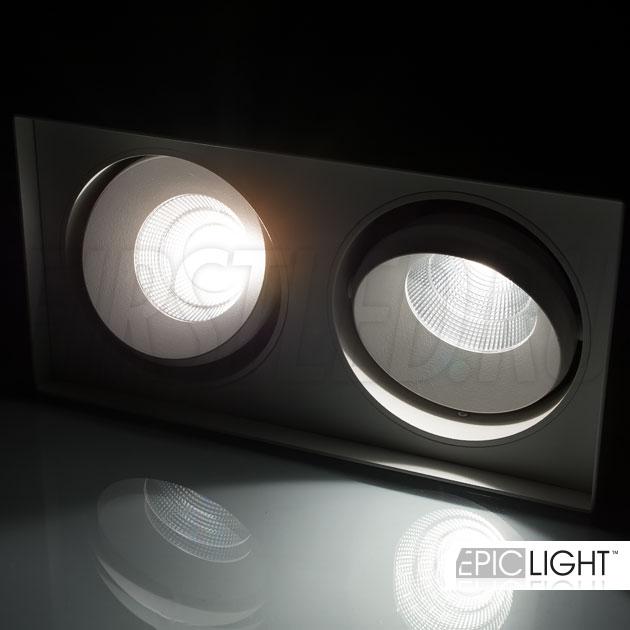 Поворотные модули светодиодного светильника CUBOID DUO