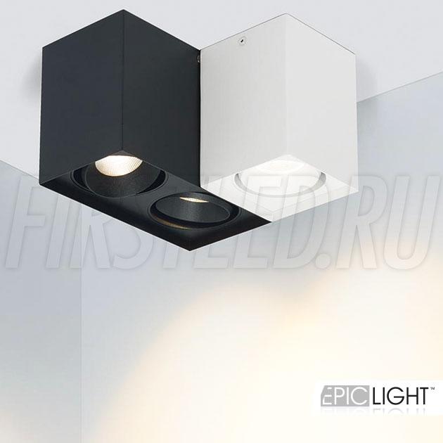 Накладные светодиодные светильники CUBOID DUO и CUBOID UNO