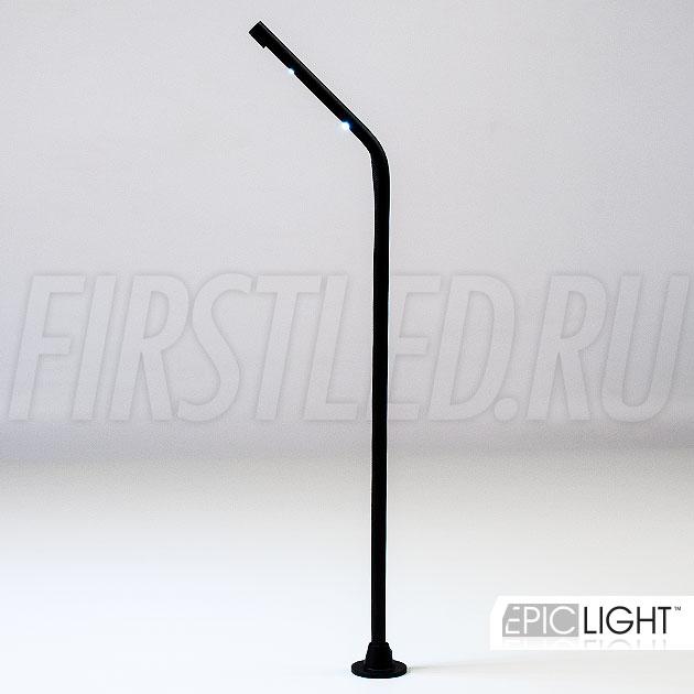 Красивая форма в черном корпусе светодиодного светильника стойки STILO.G