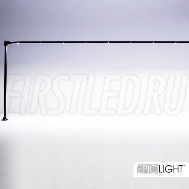 Светодиодный светильник STILO LONG для подсветки больших ювелирных витрин