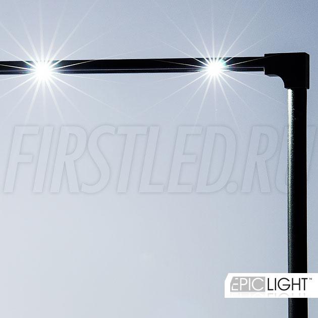 Источник питания на 220V для светильника STILO LONG входит в комплект