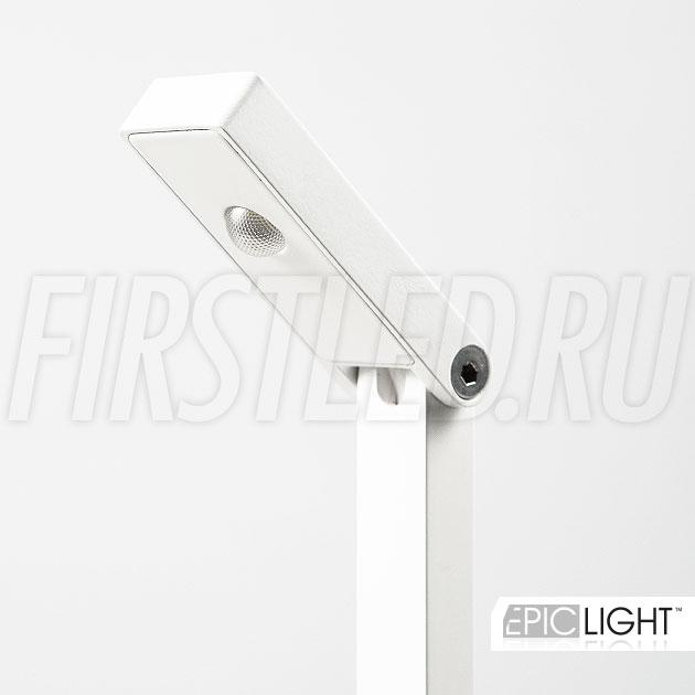 Светильник VITRO выполнен из сверхмощного светодиода CREE CXA1304 (США)