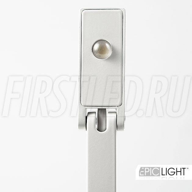 Корпус светильника VITRO сделан из алюминия окрашенного в белый цвет