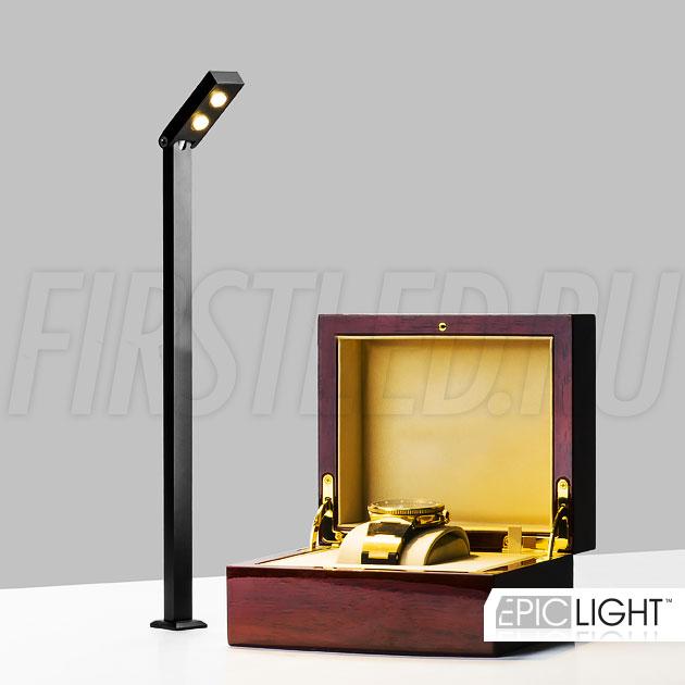 Светодиодный светильник на стойке EpicLIGHT VITRO 2 для подсветки витрин