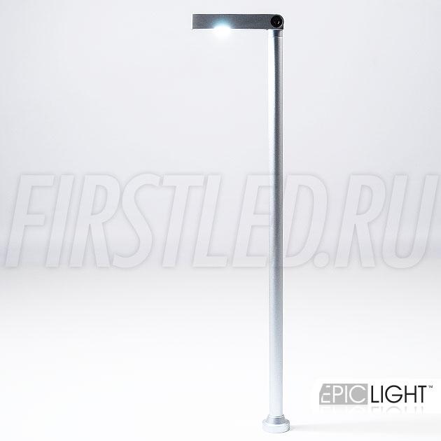 Регулируемый угол освещения светодиодного светильника VITRO SLIM позволит выбрать нужную подсветку в определенном месте витрины