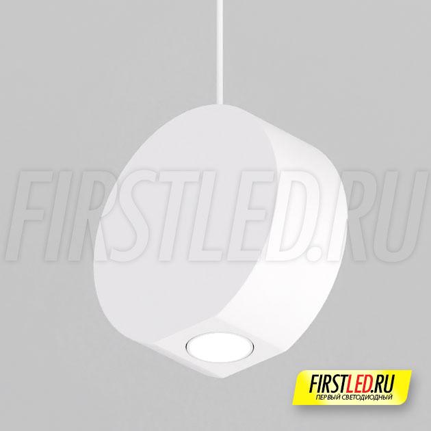 Подвесной светодиодный светильник ELEMENTA ROLL 9W в белом корпусе