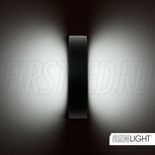 Подсветка стен с двух сторон светодиодного светильника EDGE DIRECTO, горизонтально или вертикально… Выбор за вами!