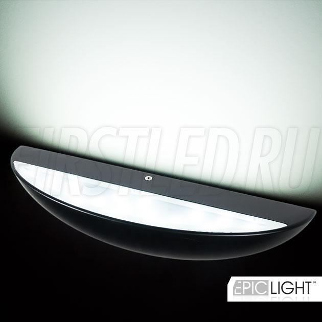 Овальное освещение стен благодаря светодиодному светильнику EDGE OVALO
