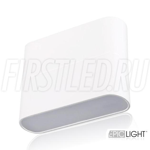 Настенный светодиодный светильник FLATON 6W прекрасно подойдет для подсветки стен на лестницах или узких коридорах